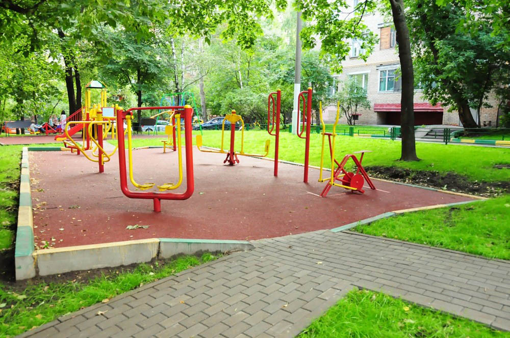 Работы по благоустройству в городах России практически завершены