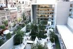 Сад на крыше Музея современного искусства в Нью-Йорке