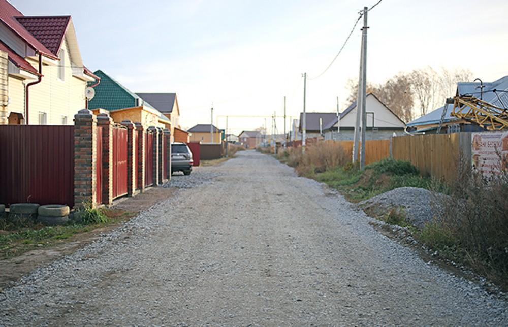 В Верх-Туле дороги строят за счет бюджетов и инвесторов
