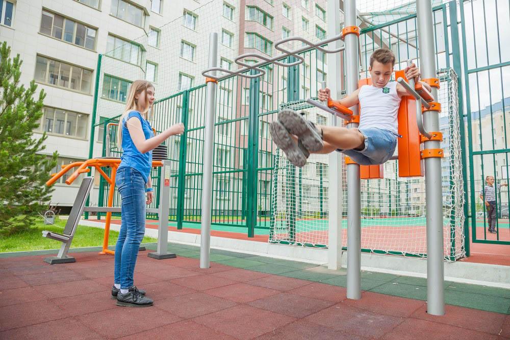 В Новосибирске отремонтируют 166 придомовых территорий