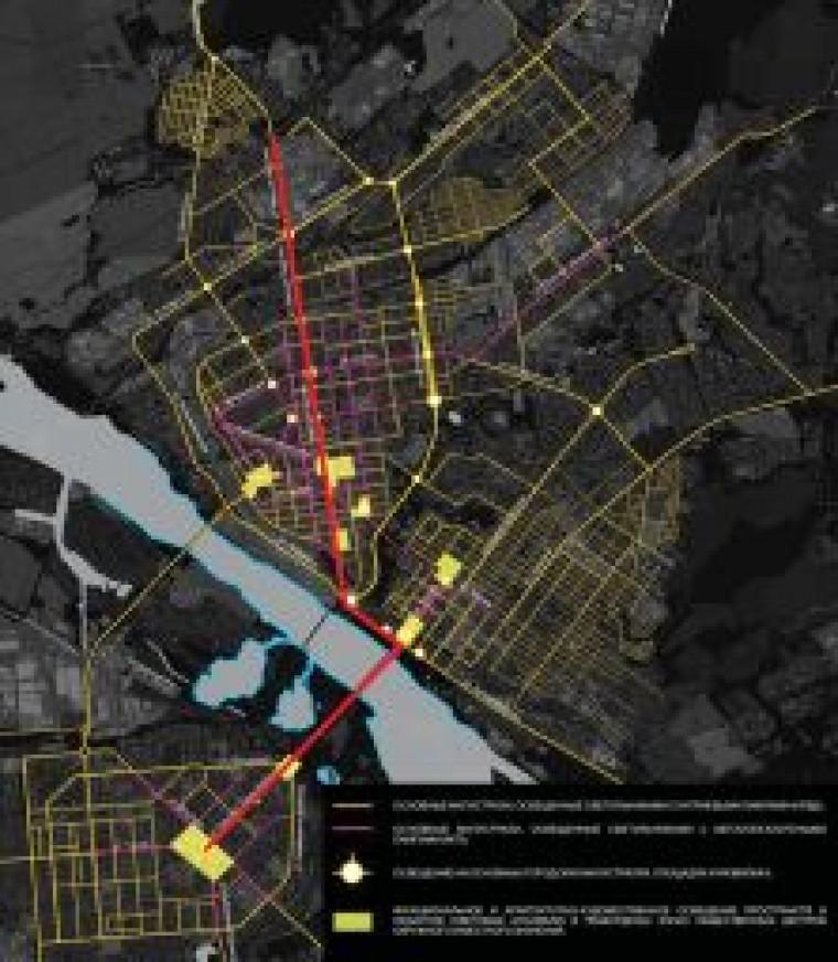 Световое оформление города