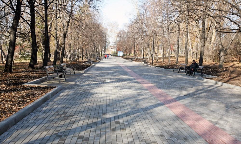Михайловская набережная Новосибирск