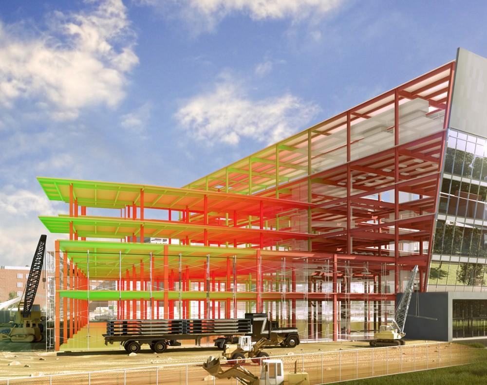 Концепцию внедрения BIM-технологий в стройотрасли разработают до 2023 года