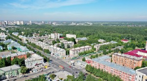 Панорама Новосибирск, Калининский район, Сосновый бор