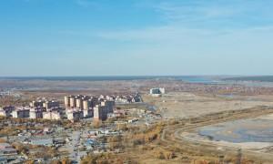 Новомарусино панорама Новосибирская область