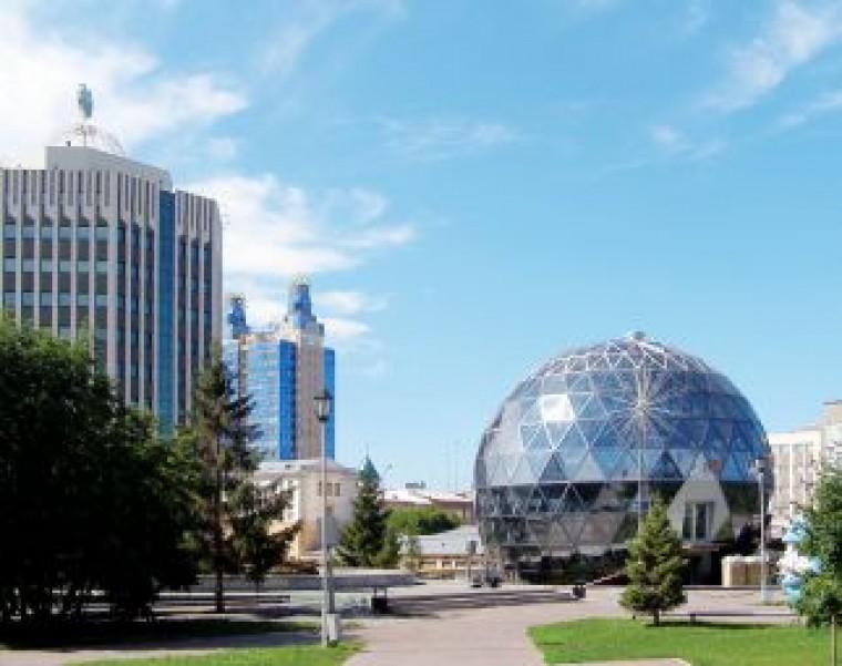 Необычные здания Новосибирска