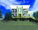 Модульная архитектурно-строительная система индустриального строительства поселков эконом-класса