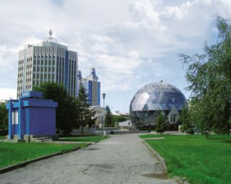 «Шар», «Бутон» и «Кокон» – новая архитектура Новосибирска