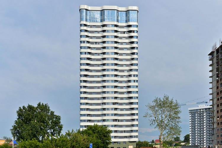 Лескова, 23, жилой комплекс «Оазис»