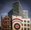 """""""На этом фото мы видим мирное сосуществование старой и новой архитектуры. Конечно, эти здания не сочетаются, но и не вступают в конфликт друг с другом. Они отражают творческий поход к застройке центра Гамбурга"""". Фото: Volker Sander, Германия."""