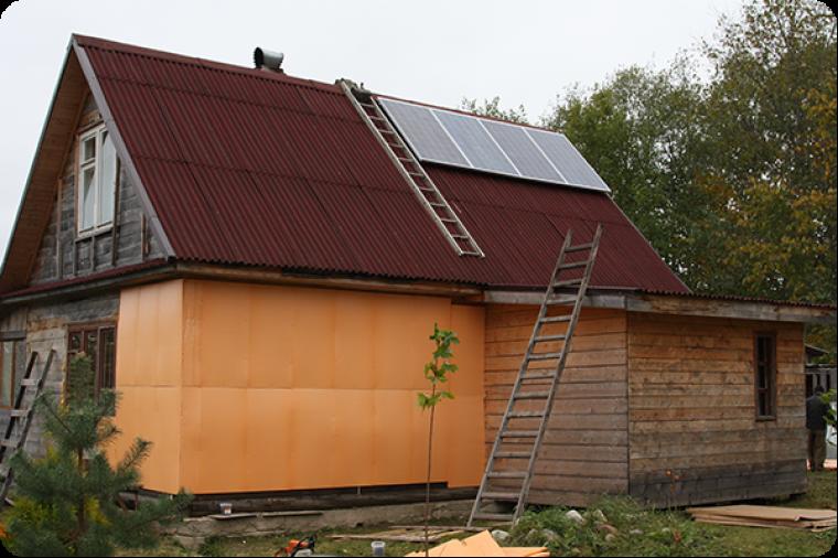 Автономное энергообеспечение стало возможным при помощи солнечных батарей
